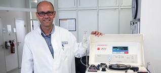 Wie Blutplasma Covid-19-Patienten helfen könnte