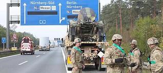 Größte US-Militärübung führt durch Oberfranken