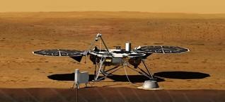 Insight-Mission - Tiefe Einsichten vom Mars