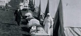 Nachwirkungen der Spanischen Grippe - Ein Massensterben und kaum Konsequenzen