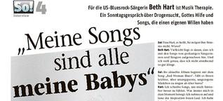 Für die US-Bluesrock-Sängerin Beth Hart ist Musik Therapie