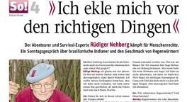Abenteurer Rüdiger Nehberg über seinen Kampf für Menschenrechte