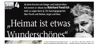 Rainhard Fendrich über Angst, Hass und Flucht
