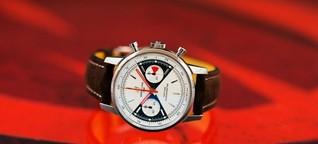 Distributed Ledger: Breitling wirbt für Uhr mit Blockchain-Zertifikat
