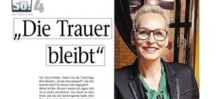 Bärbel Schäfer schreibt über Leid und Tod