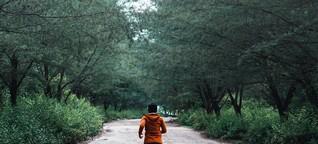 """""""Laufen gibt einem immer mehr zurück, als man reinsteckt"""""""