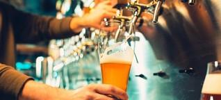 Eine Ansteckung durch Trinkgläser ist höchst unwahrscheinlich