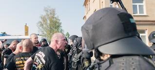 """Wie das """"Schild und Schwert""""-Festival die Neonazi-Szene vereinen wollte"""