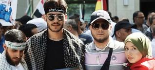 Wir haben Demonstranten beim Al-Quds-Tag gefragt, warum sie Israel hassen