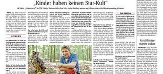 """Der Fritz Fuchs aus """"Löwenzahn"""" im Interview: Guido Hammesfahr"""