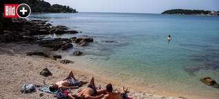 Coronavirus und Urlaub: Anbaden in Kroatien. BILD macht den Check!