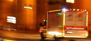 Unfälle mit Blaulicht werden kaum erfasst