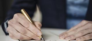 Warum Startups bei einem Gründer handgeschriebene Briefe bestellen