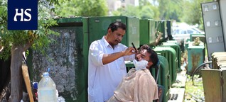 Koronavirus   Parturi ansaitsee pari euroa päivässä, mutta töitä on pakko tehdä - HS:n reportaasi vie Pakistaniin, jossa köyhät joutuvat valitsemaan nälän ja viruksen välillä
