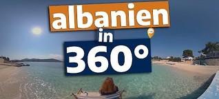360°-Video: Albanien - Europas unterschätztes Reiseziel