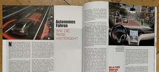 Autonomes Fahren - Wie die Reise weitergeht