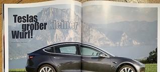 Testfahrt im Model 3 - Teslas großer kleiner Wurf?
