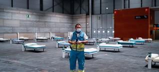 """Corona-Krise in Spanien: """"Wer eingeliefert wird, rechnet damit zu sterben"""""""