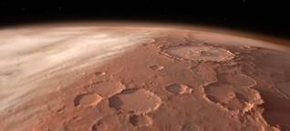 Astronomie - Eine Marswolke gibt Rätsel auf