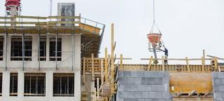 Baustelle Wohnungsneubau