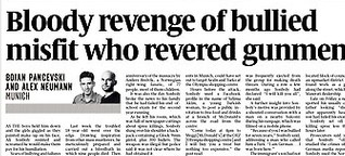 Bloody revenge of bullied misfit who revered gunmen