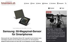 Samsung-Smartphone-Sensor mit neuer Technologie [2020-05-20]