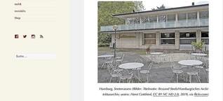 Architektonisches Erbe gefährdet: »Café Seeterrassen« Hamburg