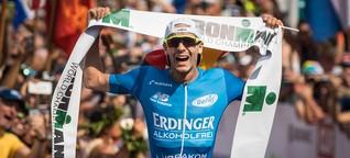 "Ironman-Sieger Patrick Lange: ""Zwei Anker gegen den Schmerz"""