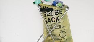 Wie viel Recycling in der Plastikflasche steckt