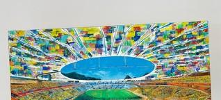 Erst Fußballerin, jetzt Künstlerin: Für die Galerie