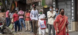 Indische Arbeiter im Lockdown - Probleme der Tagelöhner werden sichtbar