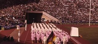 Olympia während der deutschen Teilung