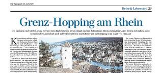 Zwischen Stein am Rhein und Schaffhausen
