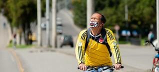 Fahrradboom in Kolumbiens Hauptstadt: Corona-Radwege für immer