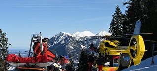 Bergwacht: Lebensretter im Schnee