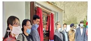 DRDO establishes Covid-19 testing facility at Leh.