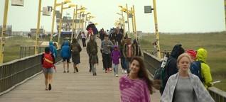 Corona: System zur Besucher-Lenkung in St. Peter-Ording