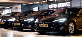 Autovermietung UFO Drive: Nur Elektroautos, nur per App