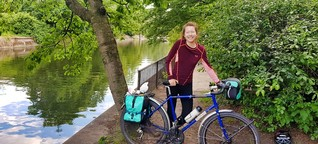 Mit dem Fahrrad von Südafrika nach Norwegen