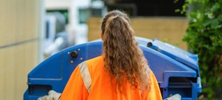 Aushilfe bei der Müllabfuhr: Wo Systemrelevanz Studentenjobs schützt