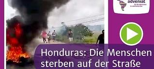Corona in Honduras bedeutet Proteste und Hunger