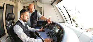 Lokführer-Ausbildung zwischen Simulator und Gleisbett