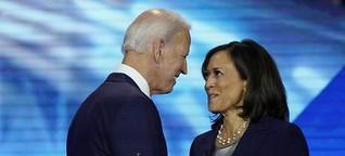 Joe Biden schreibt mit Kamala Harris Geschichte