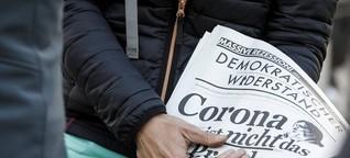Anti-Corona-Proteste - Warum Verschwörungsideologien die Demokratie gefährden