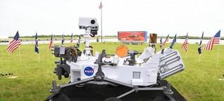 Rover Perseverance - Auftakt zu mehrteiliger Mars-Mission
