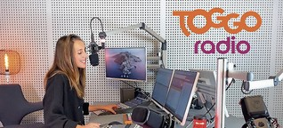 Radiomoderatorin: Gute Laune gehört dazu- dpa Kindernachrichten
