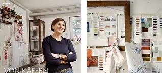 Von Käfern und Käufern: Ateliervisit bei Textildesignerin Birgit Morgenstern