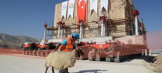 Umstrittener Staudamm in Hasankeyf: Türkei ignoriert kulturelles Erbe