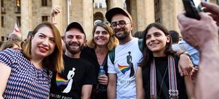 In Georgien ist es ein täglicher Kampf, queer zu sein