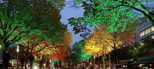 Bionik: Bäume als Straßenbeleuchtung | MDR.DE